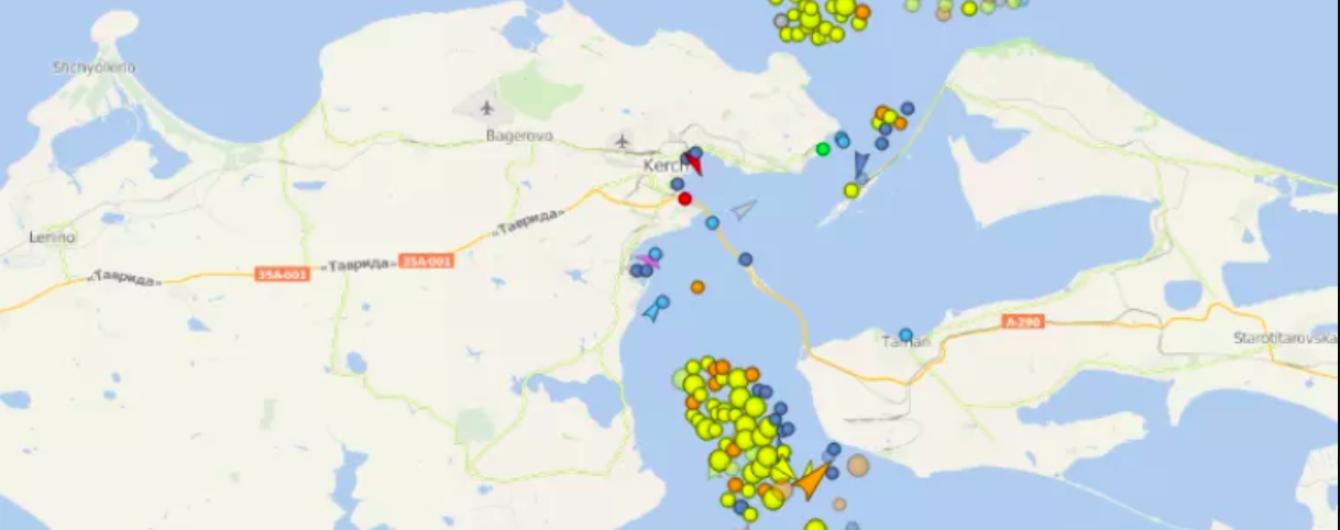 Росія заблокувала рух цивільних суден в Азовському морі - ЗМІ