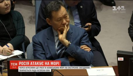 Рада Безпеки ООН проведе екстрене засідання через дії Росії в Азовському морі