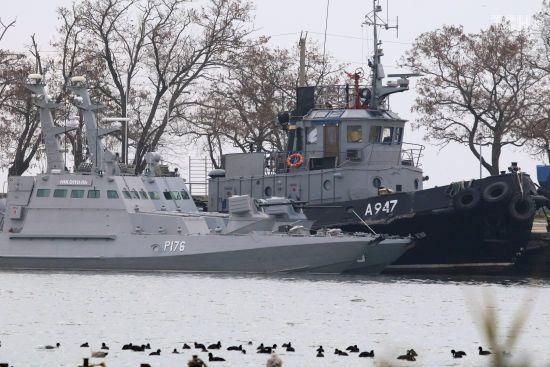 МінТОТ показало місце захоплення росіянами українських кораблів. Вони були у міжнародних водах