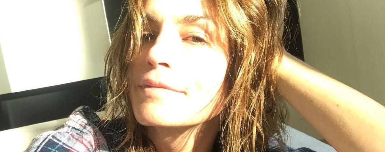Она очаровательна: Синди Кроуфорд поделилась утренним селфи