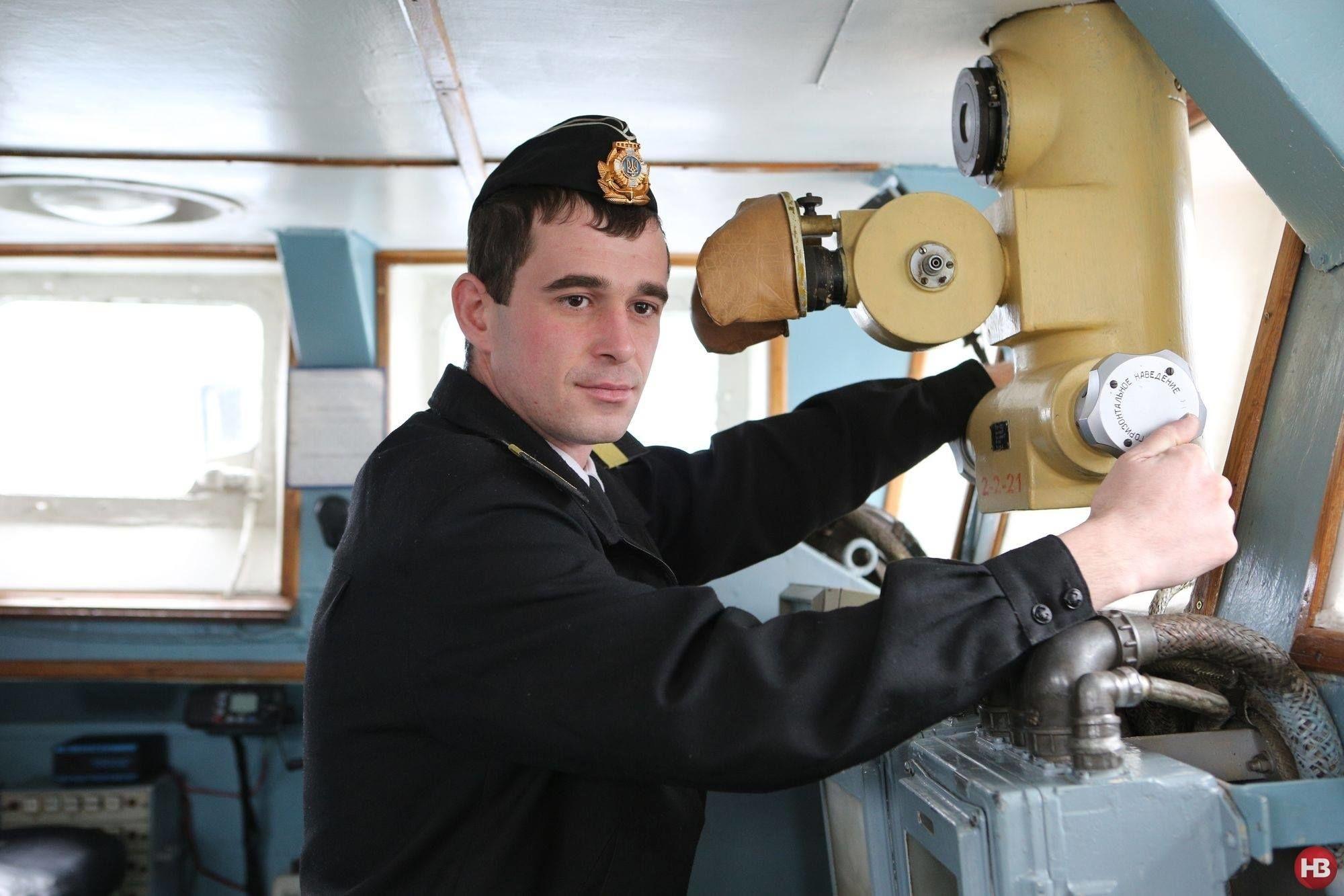 Полонений український моряк Роман Мокряк