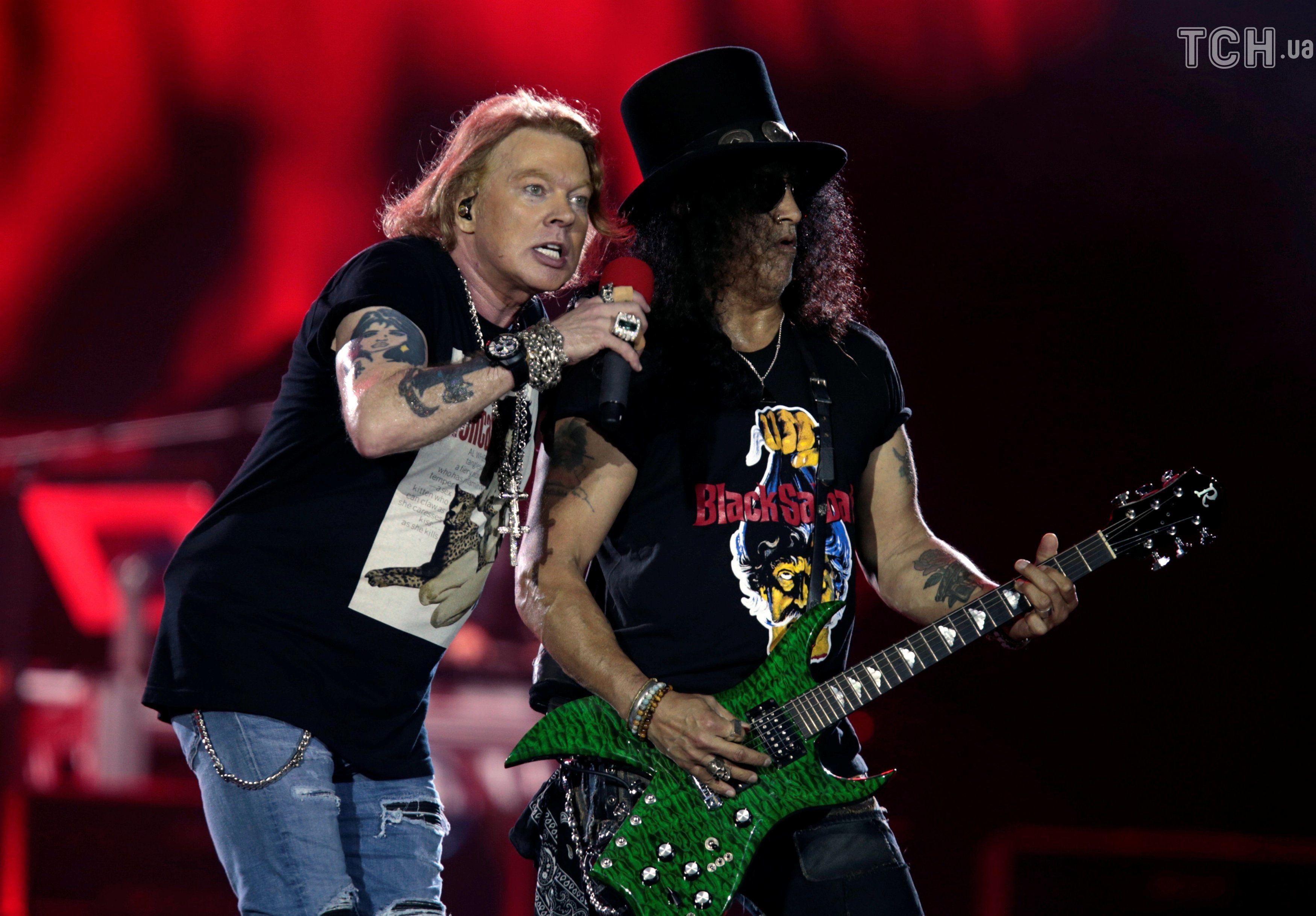 Guns N 'Roses, Аксель Роуз_2
