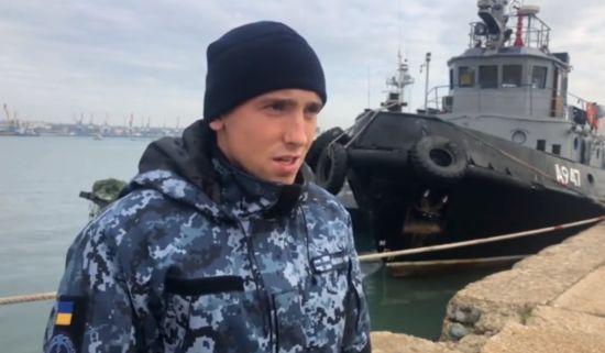 ФСБ опублікувала відео допиту взятих у полон українських моряків