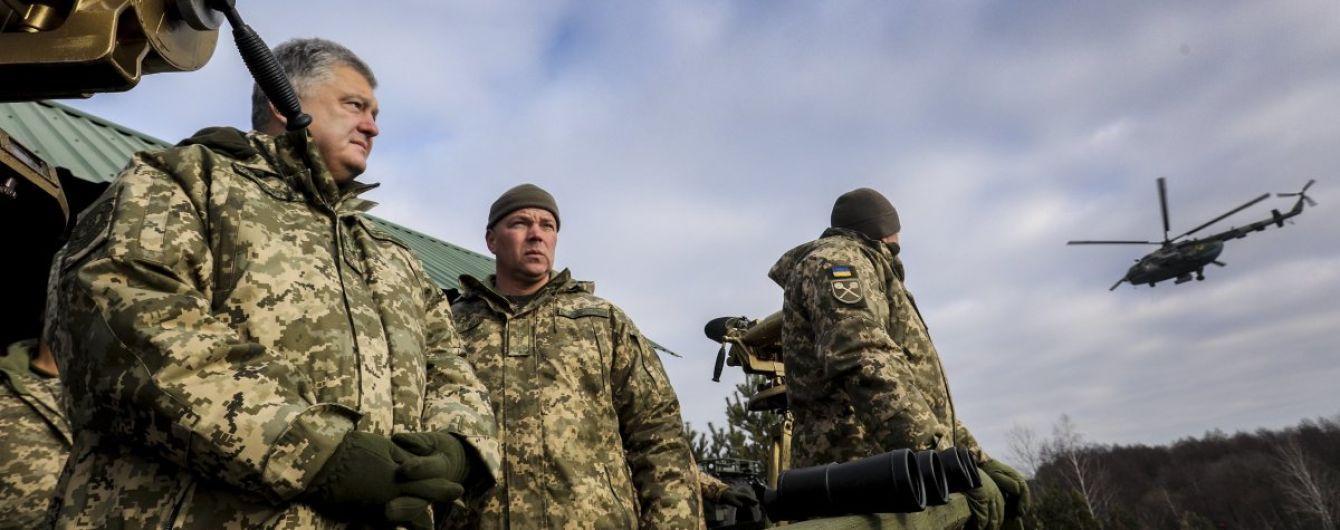 Порошенко подписал закон об упрощении закупки оружия за рубежом