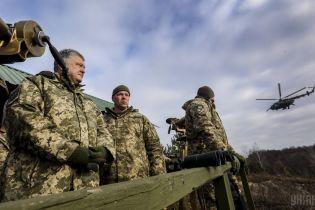Порошенко ввел в действие тайное решение СНБО по итогам военного положения