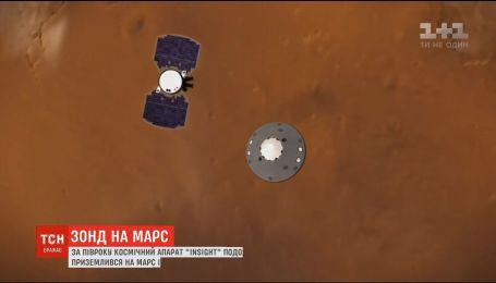 Зонд NASA успешно приземлился на Марсе