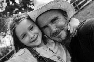 Турботливий татусь Девід Бекхем розчулив юзерів знімком з донечкою