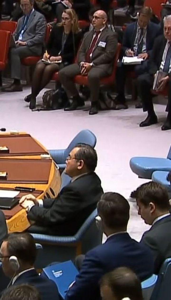 Экстренное заседание Совбеза ООН: Россию обвиняют в грубом нарушении международного права