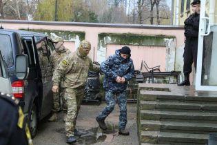 З'явилися перші фото українських моряків після захоплення російськими ФСБівцями у Керченській протоці