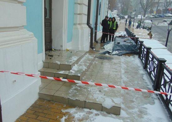Поліція схопила підозрюваного у спробі підпалити Андріївську церкву
