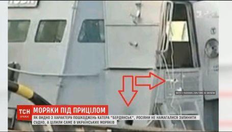 В Азовском море российские военные целились не по технике, а по людям