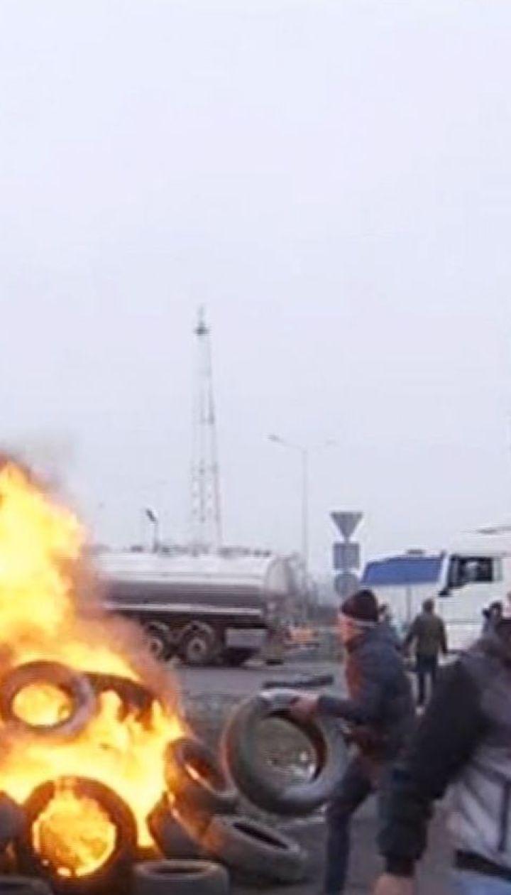 Полиция возбудила 5 уголовных производств из-за блокирования западной границы