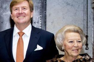 Вся в золотих паєтках: 80-річна принцеса Беатрікс відвідала урочисту церемонію