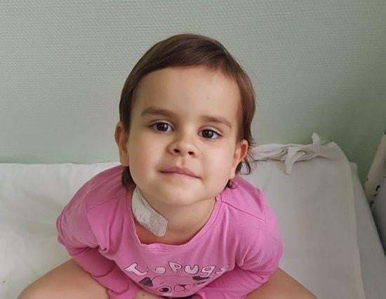Термінової допомоги потребує 4-річна Валерія, щоб здолати лейкоз