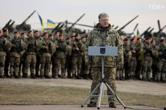 Порошенко підписав указ про введення воєнного стану