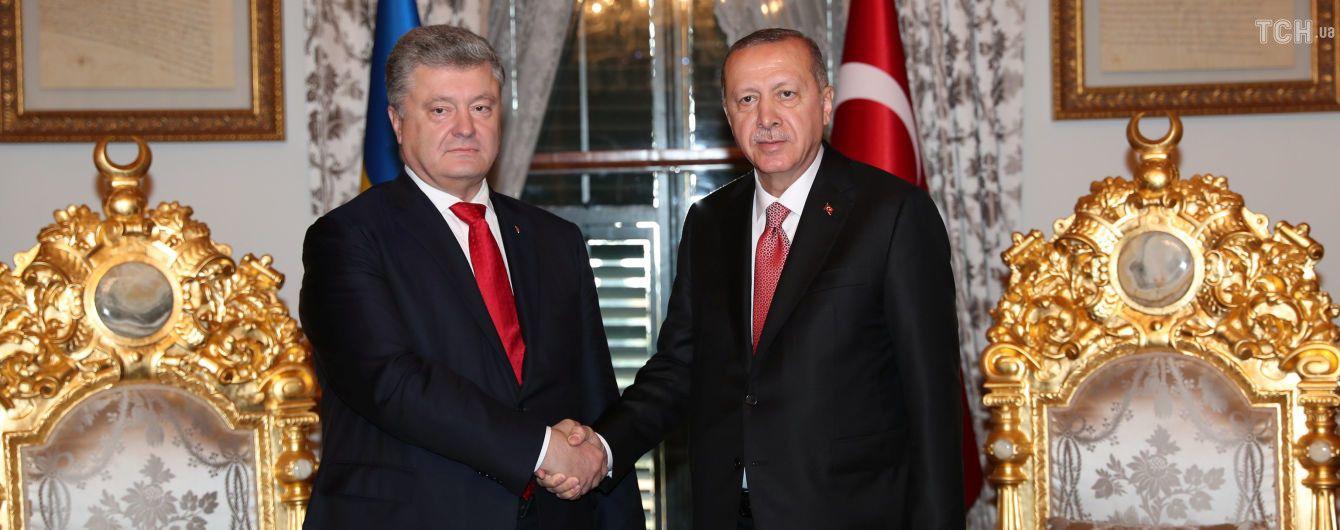 Ердоган порушить питання України на саміті G20 – Порошенко