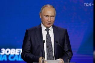 Путин рассказал свою версию нападения россиян на украинские корабли возле Керченского пролива