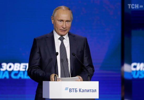 Путін розповів власну версію нападу росіян на українські кораблі біля Керченської протоки