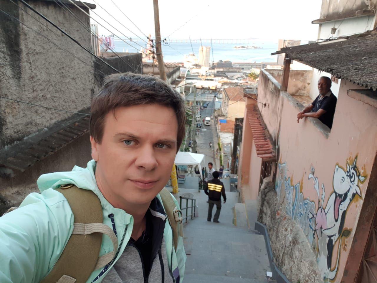Дмитро Комаров, Бразилія_2