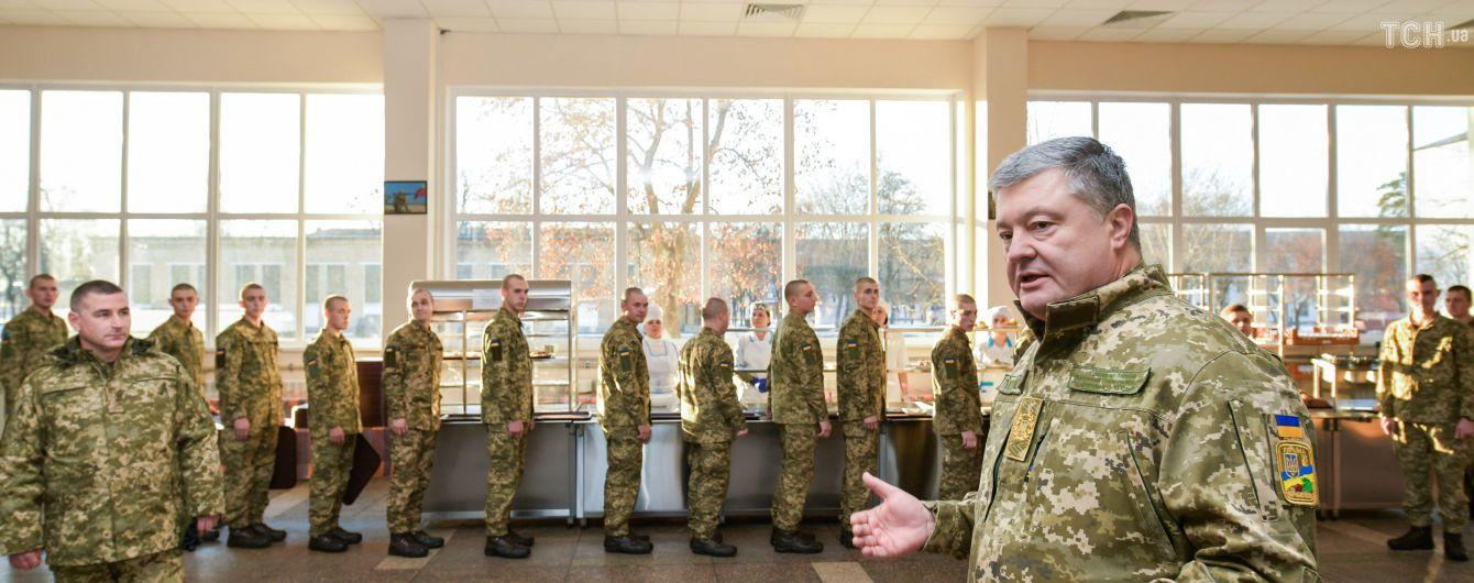 Воєнний стан не вплине на жодну цивільну особу - Порошенко
