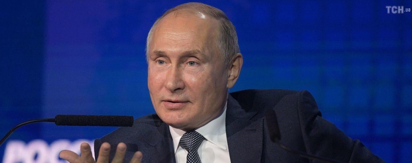 Боялися, що підірвуть міст. Путін розповів свою версію агресії в Керченській протоці
