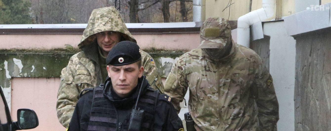 Полонених українських моряків усе ж вивезли з Криму - адвокат
