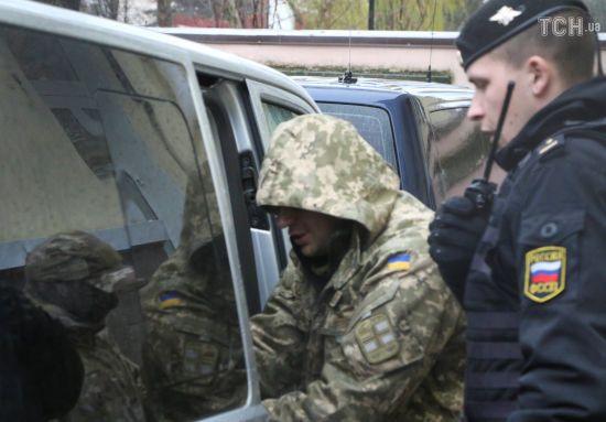 """Українських моряків-полонених доправили до СІЗО """"Лефортово"""" у Москві"""