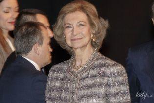 Выглядит блестяще: 80-летняя королева София посетила торжественную церемонию