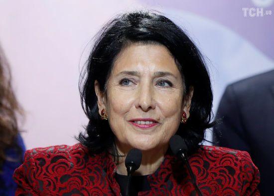 Новообрана президентка Грузії вважає співпрацю з Росією недоречною зараз