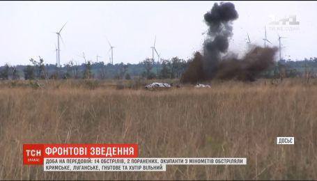 Двое украинских воинов получили ранения на Восточном фронте