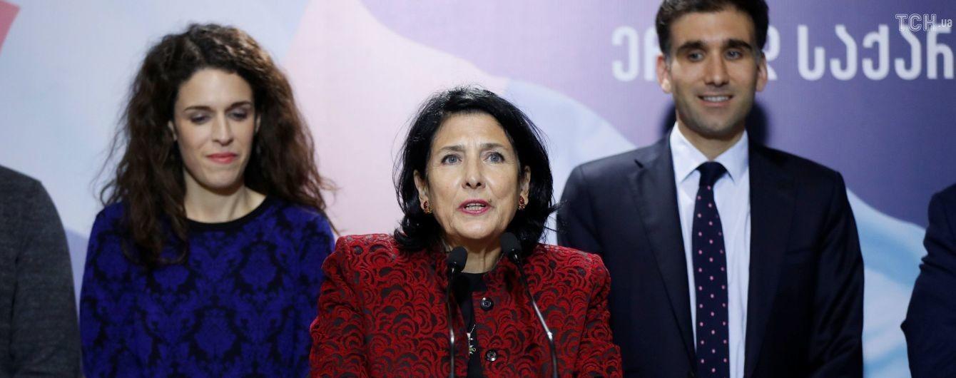 ЦИК Грузии обработал 100% бюллетеней - победила кандидат от правящей партии