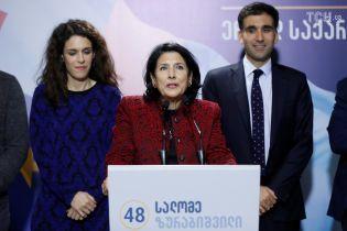 ЦВК Грузії опрацювала 100% бюлетенів – перемогла кандидат від провладної партії