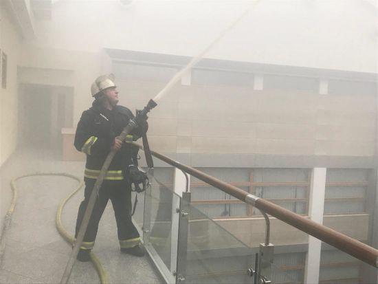 У Мінфіні розповіли про наслідки пожежі в їхньому офісі