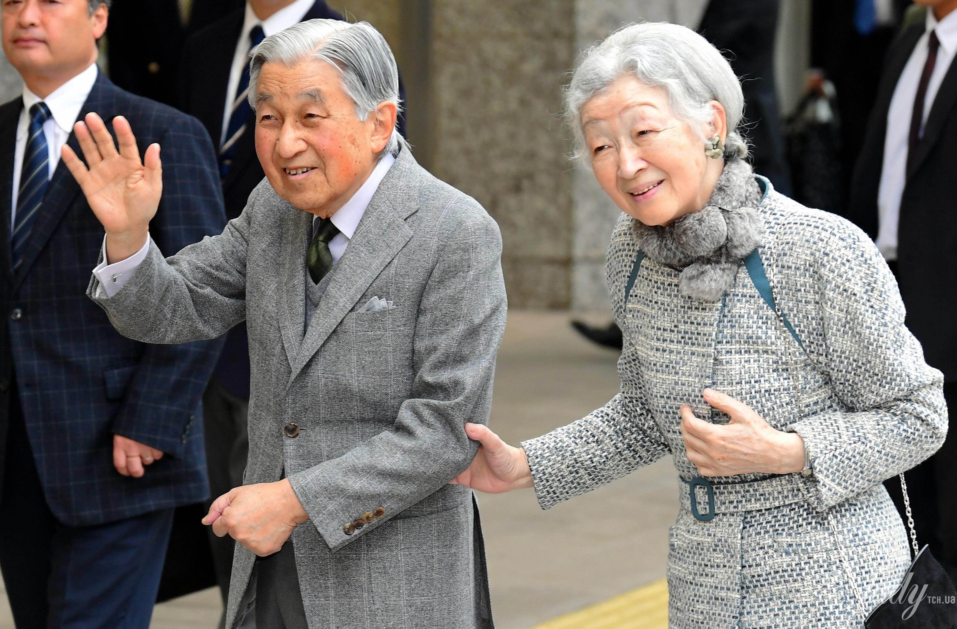 Император Акихито и императрица Митико_1