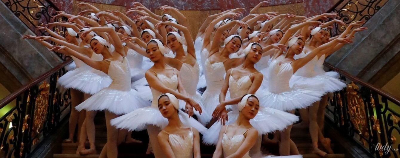 Це неймовірно: шанхайські балерини влаштували ніжну фотосесію у берлінському музеї