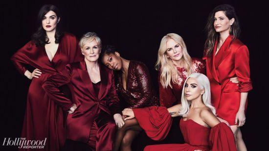 Ніколь Кідман і Леді Гага у шикарних червоних сукнях знялися для обкладинки The Hollywood Reporter
