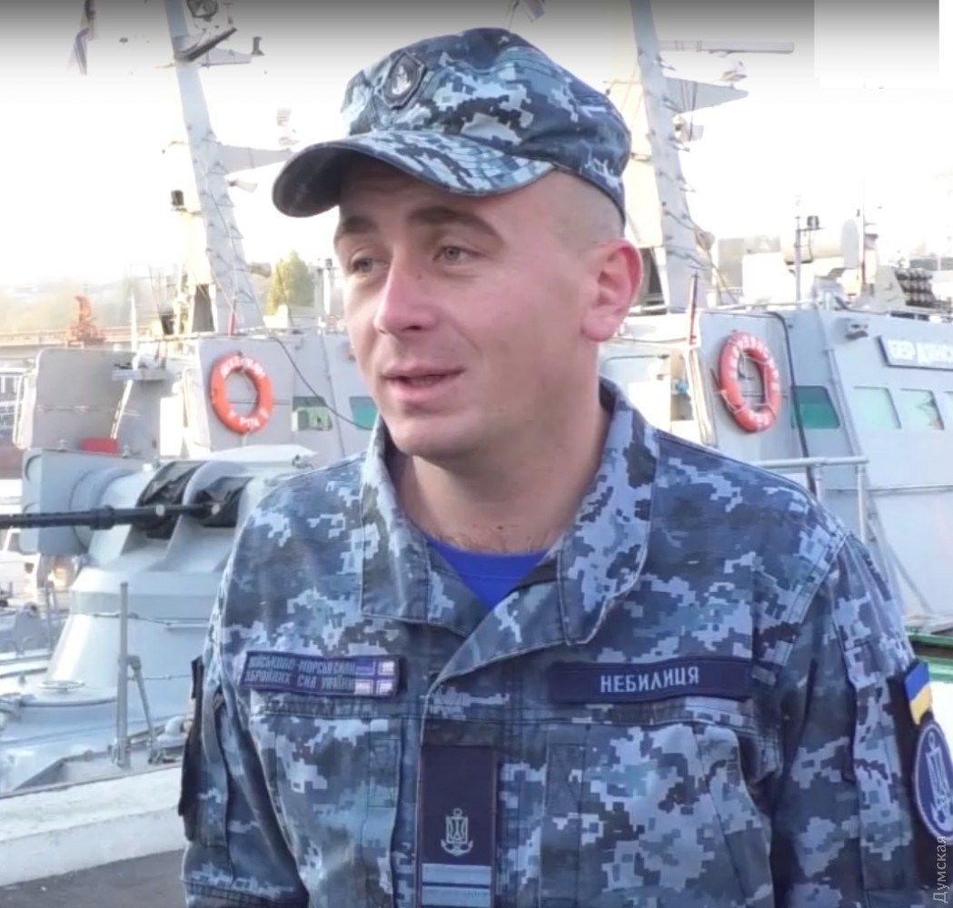 "командир ""Бердянська"" Богдан Небилиця"