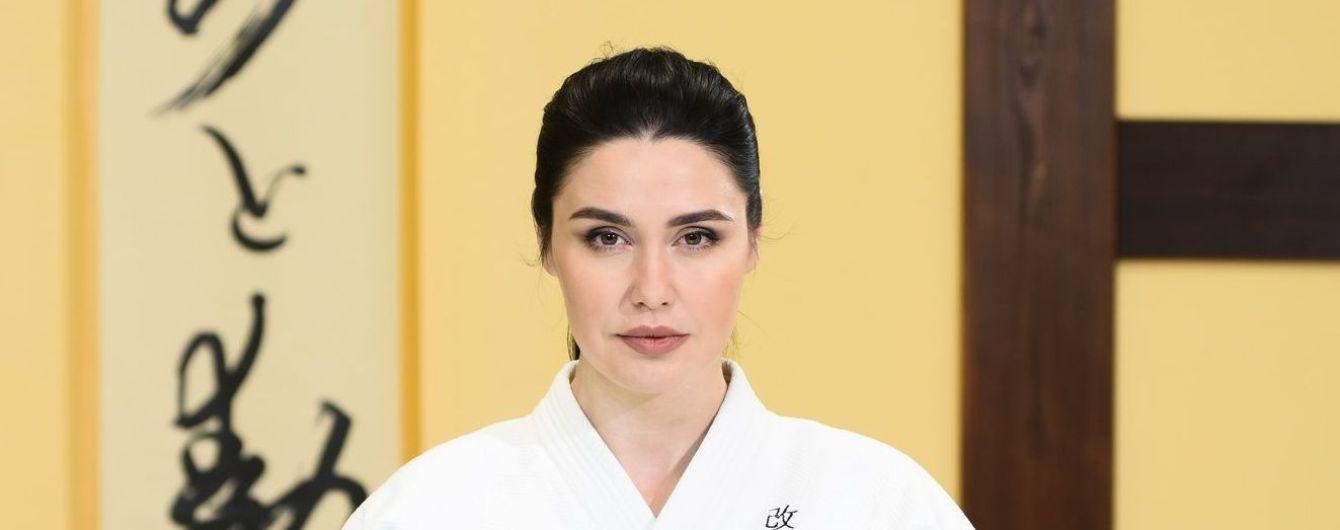 Людмила Барбір стала першою в Україні телезіркою, яка захистила чорний пояс з айкі-дзюцу