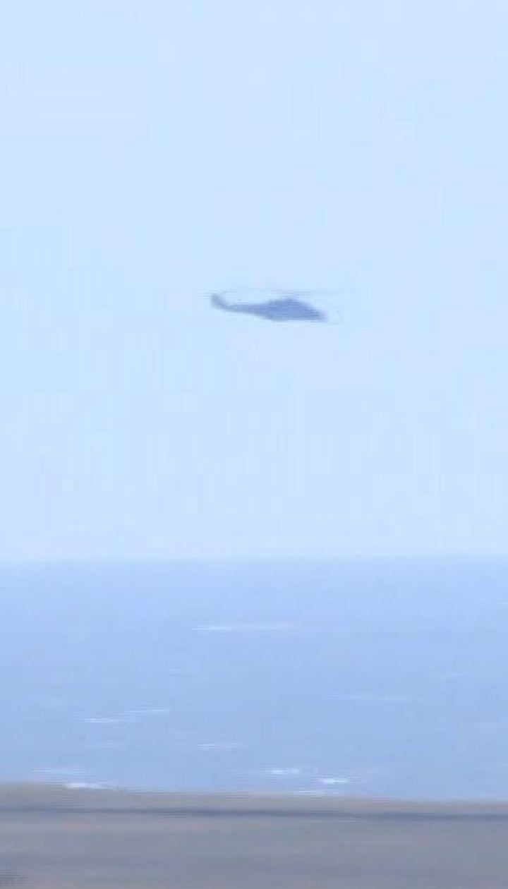 Морской десант и атака с неба: вблизи Мариуполя проходят военные учения
