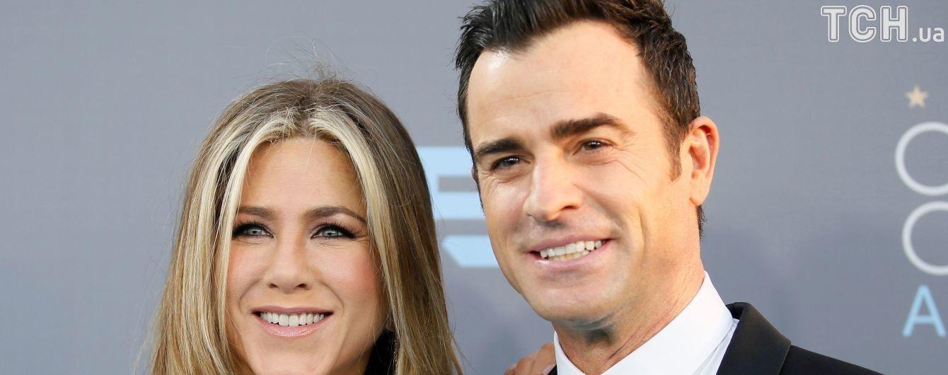 Дженніфер Еністон та Джастін Теру не були офіційно одружені – ЗМІ