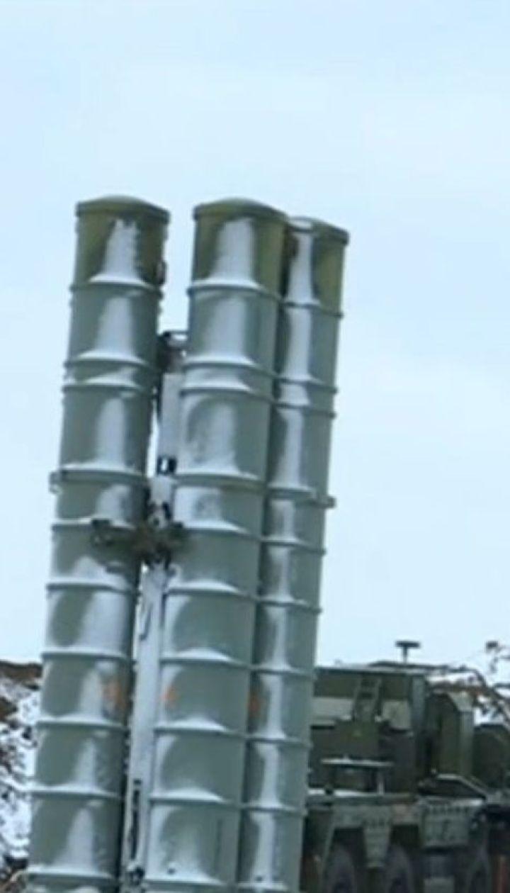 Росія розмістила в Криму новий батальйон зенітно-ракетних комплексів С-400