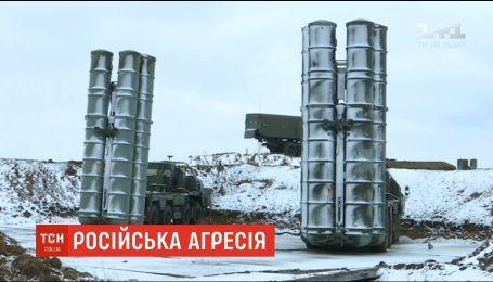 Россия разместила в Крыму новый батальон зенитно-ракетных комплексов С-400