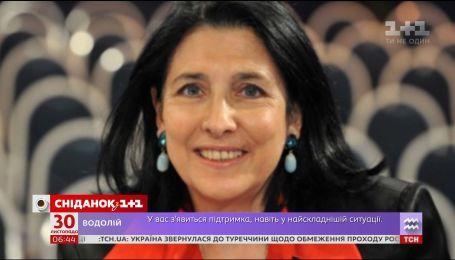 Перша жінка-президент у Грузії - історія Саломе Зурабішвілі