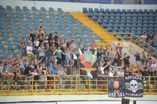 """Фанати """"Ворскли"""" бойкотували матч з """"Арсеналом"""" і провели """"анти-УЄФА"""" акцію"""