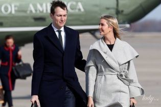 В пальто демократичного бренда и дорогих сапогах: новый выход Иванки Трамп