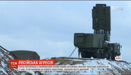 Росія розмістила батальйон зенітно-ракетних комплексів неподалік Джанкою