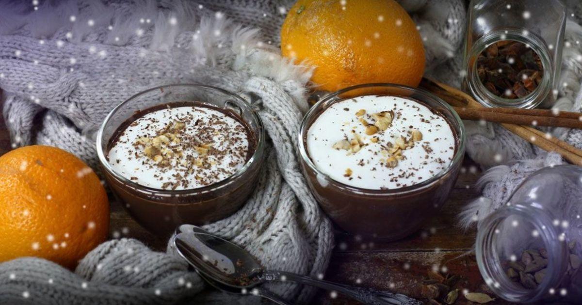 Пряний гарячий шоколад