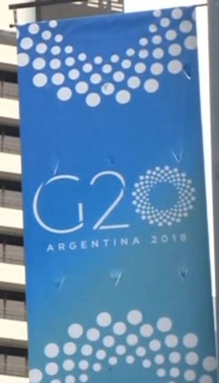 Агресія у Керченській протоці стане однією з топ-тем саміту G20