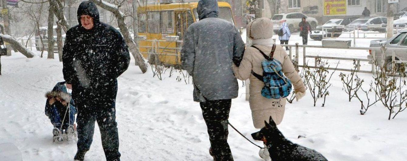 Після хуртовин та морозу до України прийде відлига з дощами. Прогноз погоди до 10 грудня