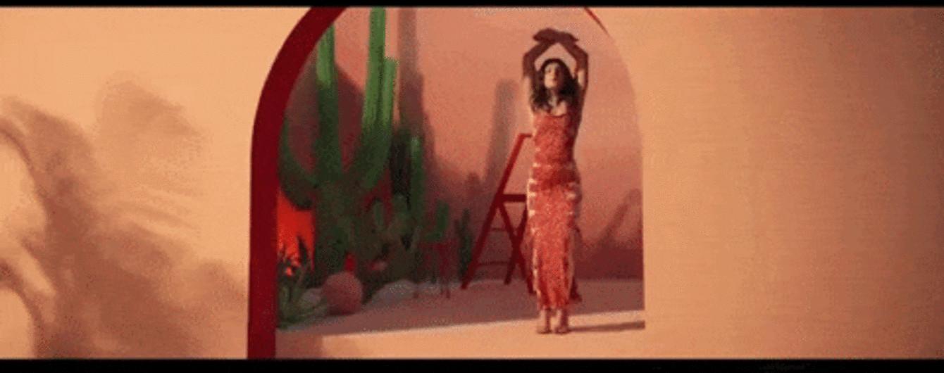 Пристрасна Мішель Андраде спокусливо станцювала серед кактусів у новому кліпі